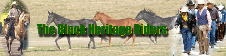 masthead for the Black Heritage Riders, Inc.